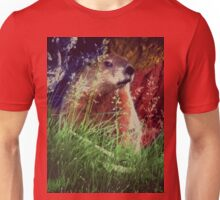 2015. Photography. By. Will Divinely Create/Animal_Groundhog Unisex T-Shirt
