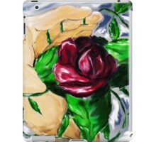 A Rose in Hand iPad Case/Skin