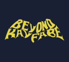 Beyond Kayfabe - Bat Letters Yellow No Outline by David Bankston