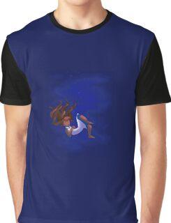 Sleeping Girl Graphic T-Shirt
