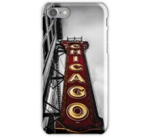 Iconic Chicago Theater Sign iPhone Case/Skin