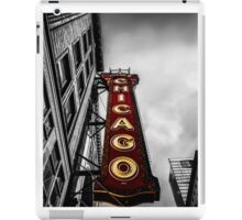 Iconic Chicago Theater Sign iPad Case/Skin
