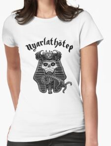 Nyarlathotep - Black and White Womens Fitted T-Shirt