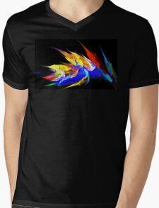 Bright Reeds Mens V-Neck T-Shirt