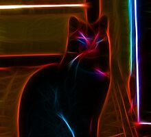 Max the Cat by michel bazinet