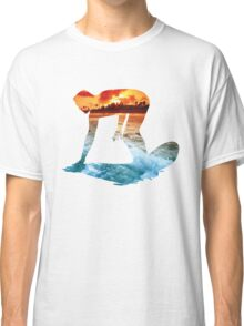 Surfing White Version Classic T-Shirt