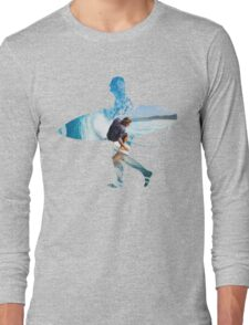 Surfer white version Long Sleeve T-Shirt