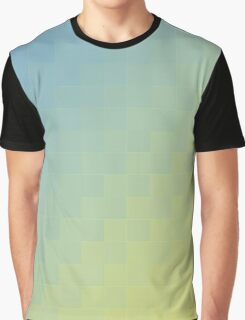 Blue - Green Gradient Graphic T-Shirt
