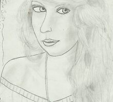 Taylor Swift Portrait by meganmpm1