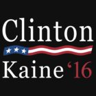 Clinton Kaine 2016 by MikePrittie