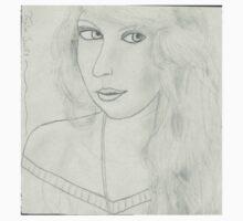 Taylor Swift Portrait Kids Tee
