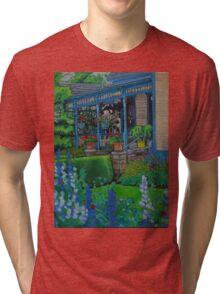 The Mansion Tri-blend T-Shirt
