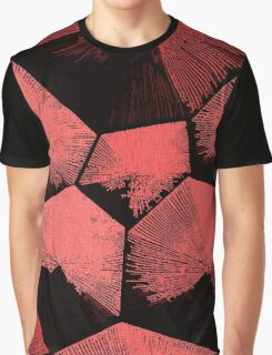 Red Tesseracts Graphic T-Shirt