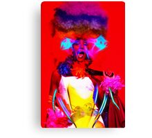The Electrical Drag Queen Canvas Print
