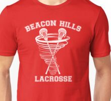 Beacon Hills Lacrosse (white) Unisex T-Shirt