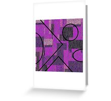 0223 Abstract Thought Greeting Card