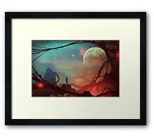 Moonlight in 1986 Framed Print