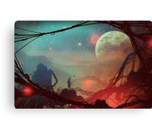 Moonlight in 1986 Canvas Print