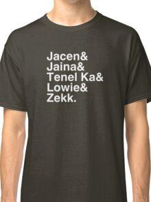 Young Jedi Knights Squad Goals Classic T-Shirt