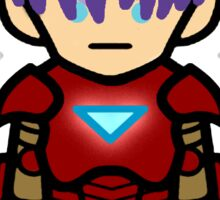 Trunks Dragonball Z Ironman Sticker