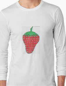 A Strawberry Long Sleeve T-Shirt