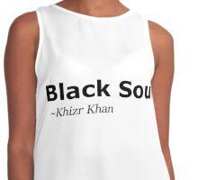 Black Soul Contrast Tank