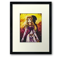 Princess Zelda Framed Print