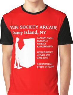 fsociety (fun society) arcade  Graphic T-Shirt
