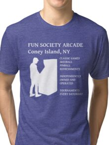 fsociety (fun society) arcade  Tri-blend T-Shirt