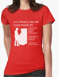fsociety (fun society) arcade  Womens Fitted T-Shirt