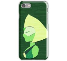 Pseudo Papercraft - Peridot iPhone Case/Skin