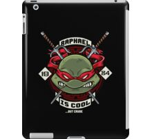A little TOO Raf! iPad Case/Skin