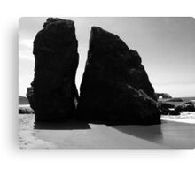 Boulders on the Coast Canvas Print