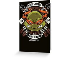 Mikey Party! Greeting Card