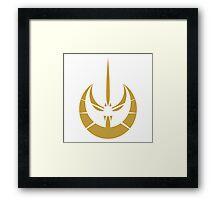 Jedi Temple Guard Framed Print