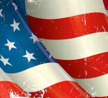 American Flag distressed  Sticker