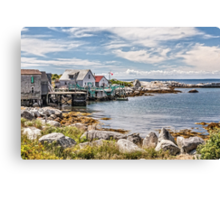 Indian Harbour Canvas Print