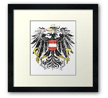 Austrian Coat of Arms Austria Symbol Framed Print