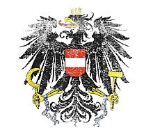 Austrian Coat of Arms Austria Symbol Photographic Print