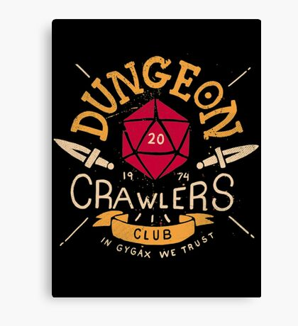 Dungeon Crawlers Canvas Print