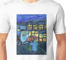 Couple in the Rain Unisex T-Shirt