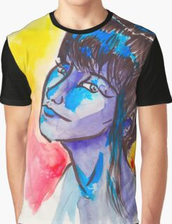 Lady In The Water(Color) Graphic T-Shirt