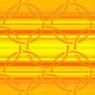 Mellow Yellow Lattice over Lines by Dana Roper