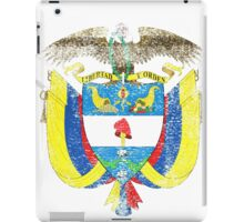 Colombian Coat of Arms Colombia Symbol iPad Case/Skin