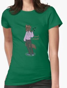 Local Werewolf Womens Fitted T-Shirt