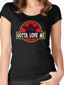 Gotta Love Me! Women's Fitted Scoop T-Shirt