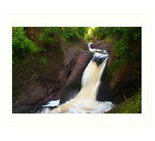 Gorge Falls Art Print