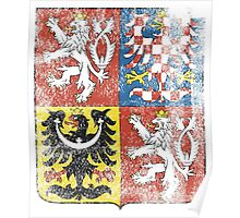 Czech Coat of Arms Czech Republic Symbol Poster