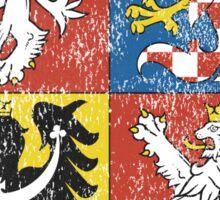 Czech Coat of Arms Czech Republic Symbol Sticker