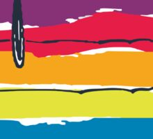 rainbow snoop Sticker